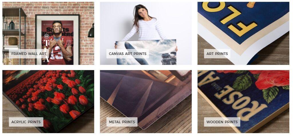 shopping for wall art online